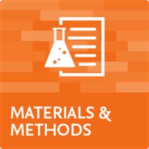 How to write material and methods for a thesis